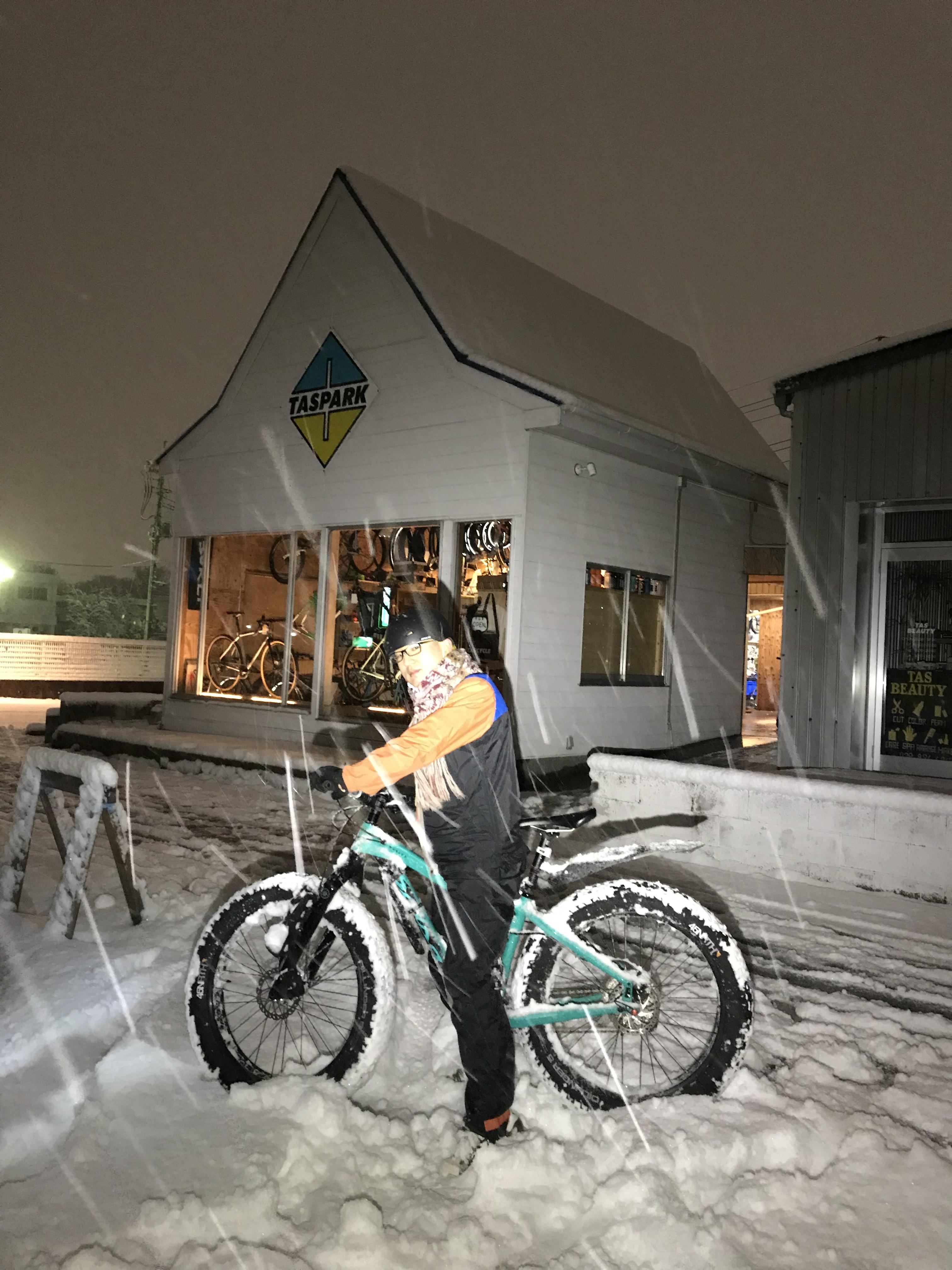 たまにしか降らない関東の雪ではしゃぐ